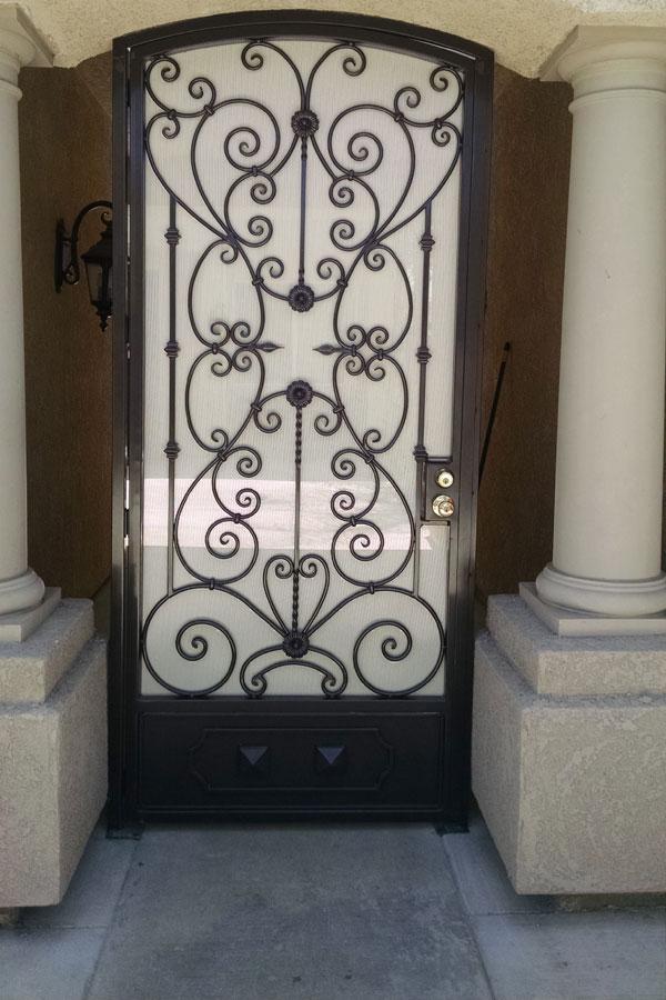 Security Doors Artesanias Gonzalez Iron Fences Iron
